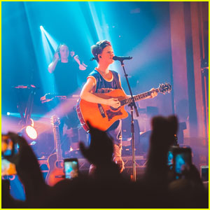 Jacob Sartorius Plays to Sold-Out Crowd at NYC's Webster Hall (Video)