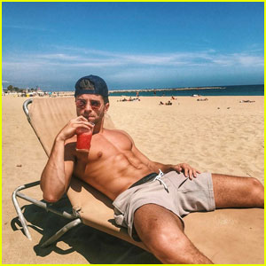 Jake Miller Goes Shirtless in Every Country
