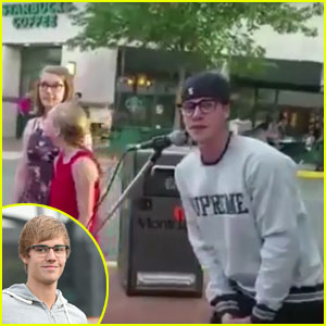 Watch Justin Bieber Stop to Support a Girl Singing on New Jersey Sidewalk (Video)
