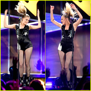 Kelsea Ballerini Just Couldn't Stop Dancing at the iHeartCountry Festival This Weekend
