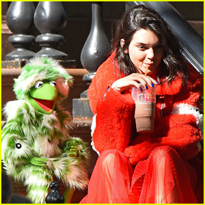Kendall Jenner Matched With the Muppets For 'Love' Magazine