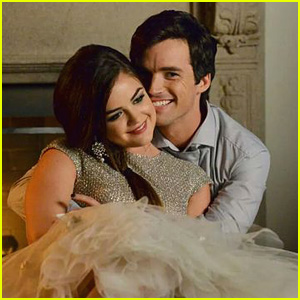 Lucy Hale Always Knew Ezra & Aria Were Meant to Be on 'Pretty Little Liars'