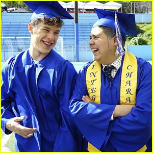 Rico Rodriguez & Nolan Gould Graduate on 'Modern Family's Season Finale!