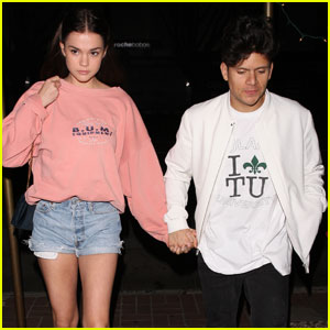 Maia Mitchell Couples Up With Boyfriend Rudy Mancuso For Dinner Date