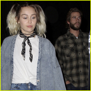 Miley Cyrus & Liam Hemsworth Have a Date Night at The Flaming Lips Concert