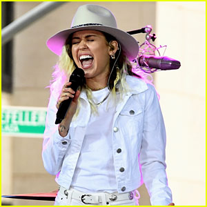 Miley Cyrus Sings 'Inspired' Live for First Time (Video)