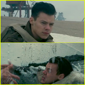 Harry Styles Swims for His Life in New 'Dunkirk' Trailer - Watch Now!