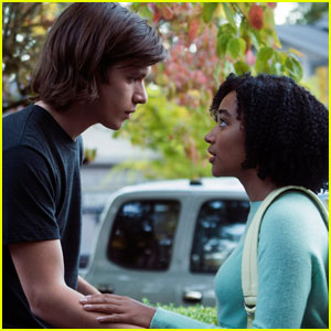 Everything, Everything's Nick Robinson & Amandla Stenberg - JJJ Interview!