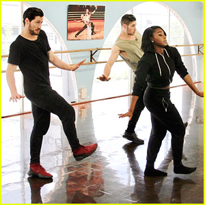 Normani Kordei Trio Dance With Val Chmerkovskiy & Alan Bersten DWTS Season 24 Week 8