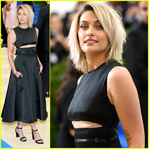 Paris Jackson Attends First Ever Met Gala 2017