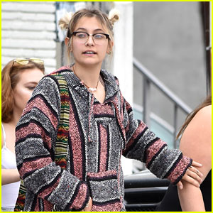 Paris Jackson Grabs Lunch with Friends After Landing Calvin Klein Campaign