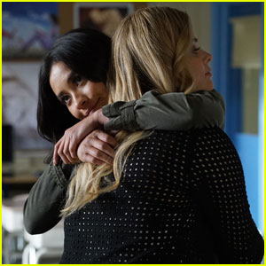 Emison Share a Hug on Tonight's All-New 'Pretty Little Liars'