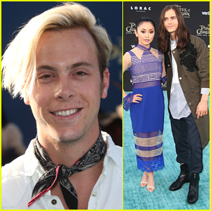 Riker Lynch Hits 'Pirates of The Caribbean' Premiere & Didn't Dress Up in Costume!