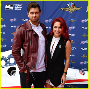 Sharna Burgess & Pierson Fode Hit The Indy500 Together - Pics!