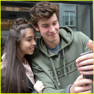 Shawn Mendes is Super Fan-Friendly in Dublin