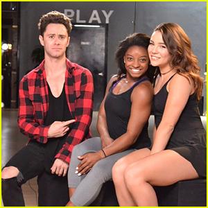Simone Biles Trio Dance With Sasha Farber & Brittany Cherry DWTS Season 24 Week 8