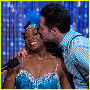 EXCLUSIVE: Simone Biles Tells JJJ it's 'Bye, Bye Boys' Once She Starts Gymnastics Training After 'DWTS'