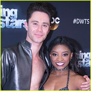 Simone Biles Reveals She's Accidentally Kissed Sasha Farber While Dancing