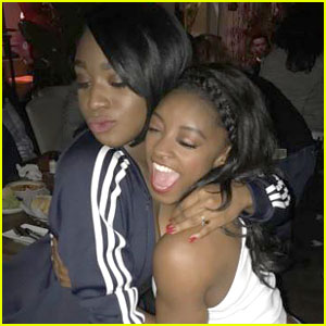 Proof That Simone Biles and Normani Kordei's Friendship is the Cutest