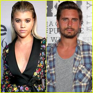Sofia Richie Slams Rumors That's She & Scott Disick are Flirting