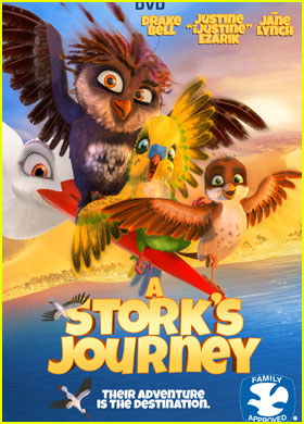 Exclusive: Drake Bell & iJustine Star in New 'A Stork's Journey' - Watch the Trailer!