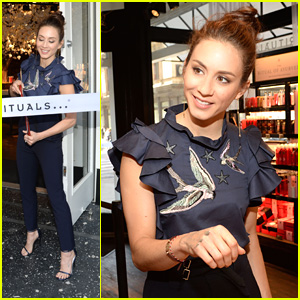 Troian Bellisario Gets Inspired By Fans After NYC Meet & Greet