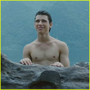 EXCLUSIVE: Uriah Shelton Goes Shirtless For 'Enter The Warriors Gate' Clip
