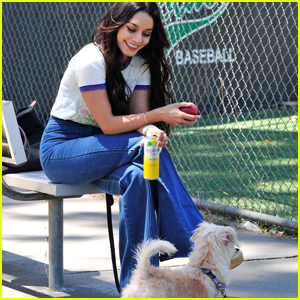 Vanessa Hudgens & Pup Darla Spend the Weekend Together
