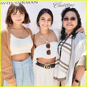 Vanessa & Stella Hudgens Bring Mom Gina to Pre-Mother's Day Luncheon