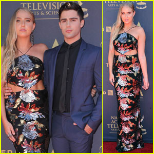 Veronica Dunne & Max Ehrich Couple Up for Daytime Emmy Awards 2017