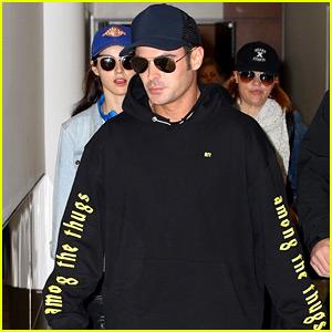Zac Efron Calls Alexandra Daddario His 'Bae Babe' While En Route to Australia!