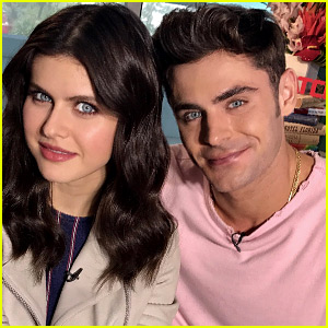 Zac Efron Said the Sweetest Thing About Alexandra Daddario's Eyes!
