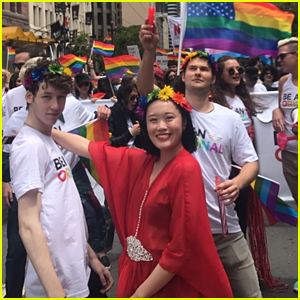 '13 Reasons Why' Cast Steps Out For San Francisco Pride!