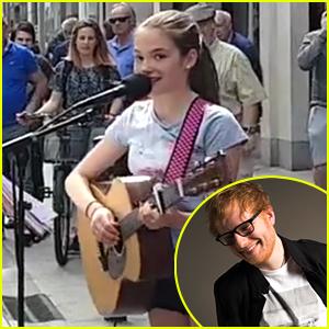 11-Year-Old Singer Allie Sherlock Sings 'Supermarket Flowers' Even Better Than Ed Sheeran