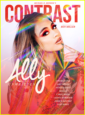 Fifth Harmony's Ally Brooke Sets Her 'Contrast' Mag Cover on Fire!