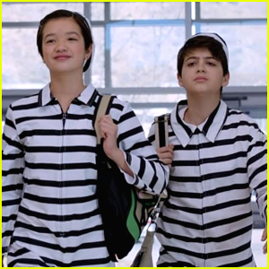 Andi Mack Protests Her School Dress Code By Dressing Like a Jailbird!