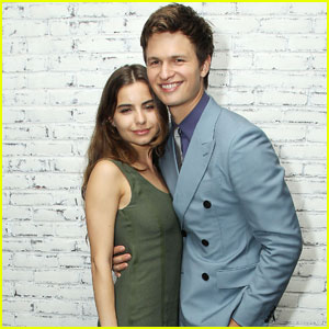 Ansel Elgort Couples Up With Girlfriend Violetta Komyshan For 'Baby Driver' NYC Screening