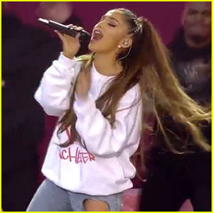 Ariana Grande's One Love Manchester Performance of 'Break Free' - Watch Now!