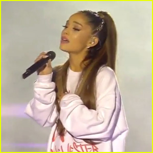 Ariana Grande Closes One Love Manchester Concert with 'Over the Rainbow' (Video)