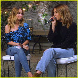 Debby Ryan Sings 'Say My Name' With Ashley Tisdale - Watch Now!