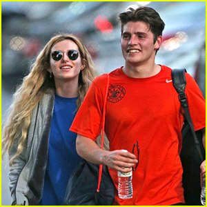 Bella Thorne & Gregg Sulkin Look So Happy Together at His Soccer Match!