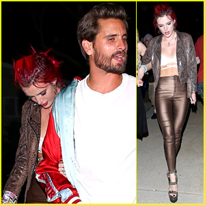Bella Thorne Is a Golden Girl with Scott Disick