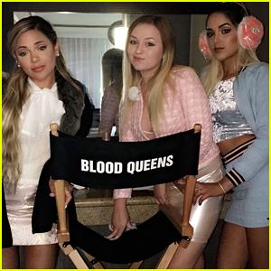 Gabi DeMartino Shares BTS Pics From 'Blood Queens' Filming