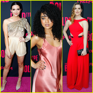 Katie Stevens, Aisha Dee & Meghann Fahy Glam Up 'Bold Type's Premiere Screening in NYC