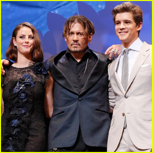 Brenton Thwaites Says You Never Know What Johnny Depp Will Do While Filming