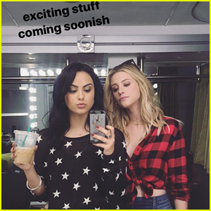 Riverdale's Camila Mendes & Lili Reinhart Have A New Fashion Campaign Coming!