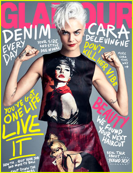 Cara Delevingne on Shaving Her Head: 'It Does Feel Like People Read My Mind More'