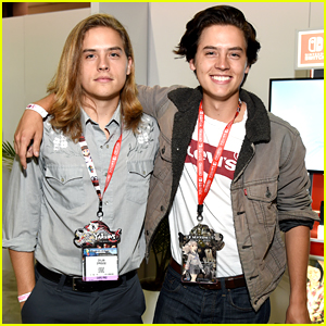 Dylan & Cole Sprouse Went Gaming Together at the E3 Convention - Pics!