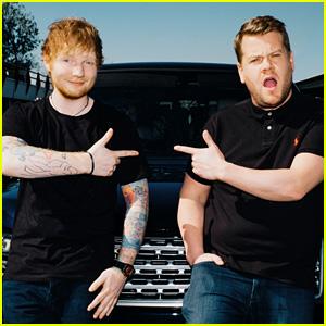 Ed Sheeran Sings His Hits & Tells Funny Stories for 'Carpool Karaoke' (Video)