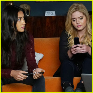 Emison Share a Cute Kiss Before Things Get Crazy on Tonight's 'Pretty Little Liars'